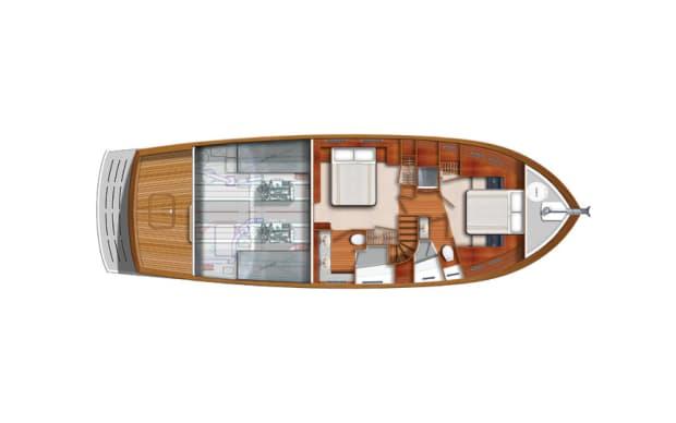 Krogen50 2SR Arrangement Qtr Deck